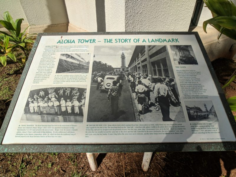 Learn more about the history of Aloha Tower Marketplace.