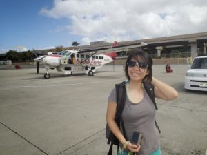 Mokulele Airlines from Honolulu to Molokai