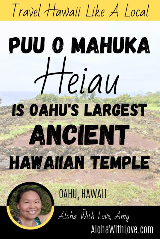 Puu O Mahuka Heiau Is Oahu's Largest Ancient Hawaiian Temple