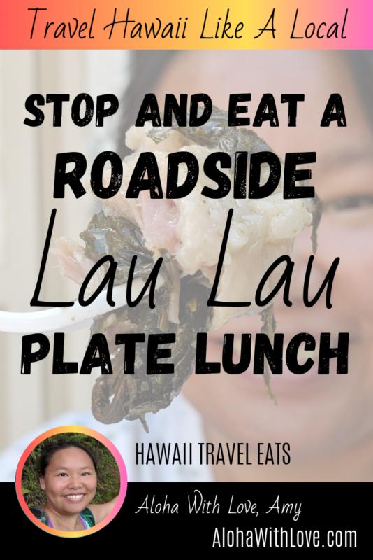 Stop and Eat Roadside Lau Lau Plate Lunch