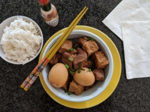 Shoyu Pork And Eggs