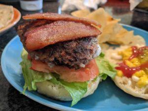 Easy beef burger patties