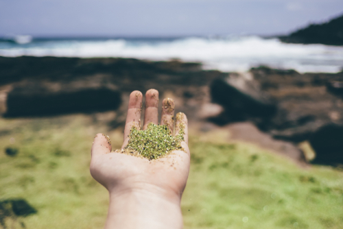 Papakolea Is One Of Four Green Sand Beaches In The World