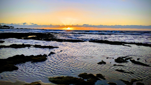 Walk The Kukio Beach Path For Coastal Views