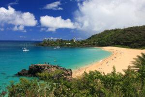 Waimea Bay For A Beautiful Beach Day