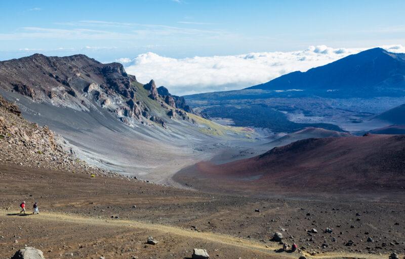 Sliding Sands Trail on Haleakala, Maui.
