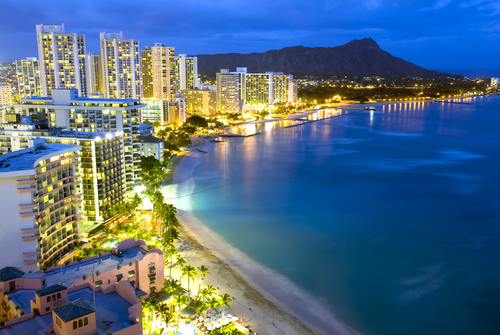 Waikiki is lit and live and ready to party.