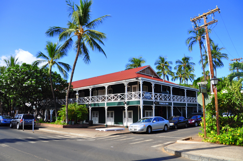 Where to stay on Maui: The Pioneer Inn. Things to do in Maui. Things to do in Hawaii.