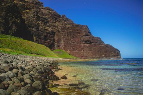 Best beaches in Hawaii: Nualolo Kai Beach. Hawaii travel. Things to do in Kauai. Things to do in Hawaii.