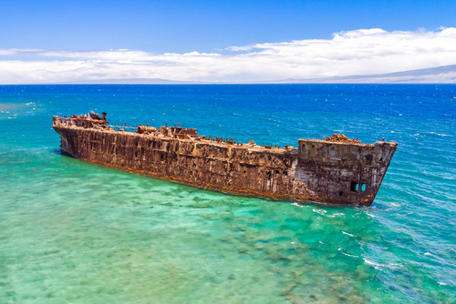 Best beaches in Hawaii: Shipwreck Beach. Hawaii travel. Things to do in Lanai. Things to do in Hawaii.