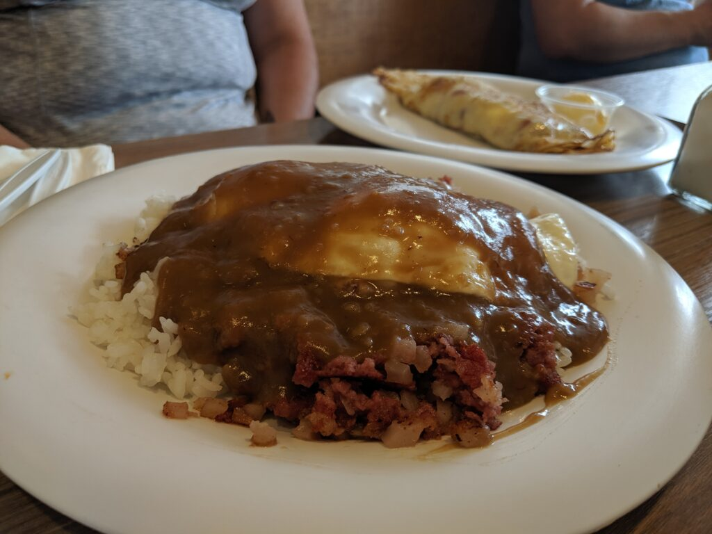 Loco moco from Pancakes and Waffles BLD.