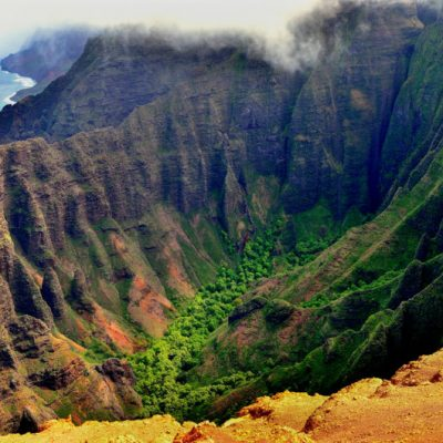 Kauai hikes with Na Pali views